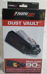 RotoZip DM10-10 Dust Vault Attachment. Reduces 90% Dust & Debris New in Package!