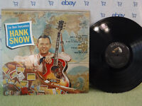 Hank Snow, I've Been Everywhere, RCA Victor Records LSP 2675, 1963, Country