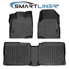SMARTLINER Custom Fit Black Floor Mat Liner Set for 2011-2017 Equinox / Terrain