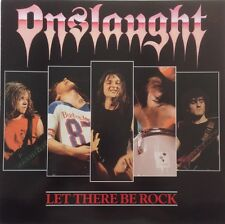 """ONSLAUGHT Let There Be Rock 1987  UK 12"""" Vinyl Single EXCELLENT CONDITION"""