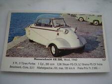 EIKON Schweiz Sammelbild Messerschmitt Kabinenroller Karo KR200  ca.1960