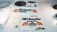 Neckermann HiFi Bausatz BS 25 Vintage Lautsprecher mit Schablone W-1429