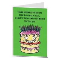 Funny 70th Birthday Card For Men & Women 70 Today Mum Dad Grandma Grandad