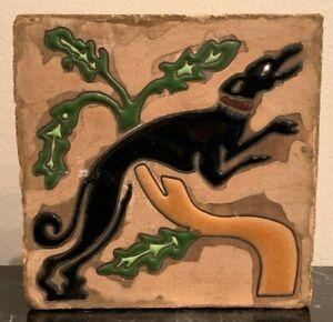 Vintage Greyhound Racing Dog Ceramic Tile