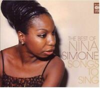 NINA SIMONE songs to sing - the best of (2X CD, compilation, 2010) soul-jazz,