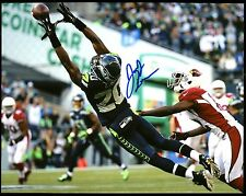 Jeremy Lane Seahawks Autographed 8x10 Photo D