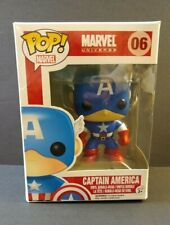 "Funko Pop! Marvel Universe ""CAPTAIN AMERICA"" Vinyl Bobble-Head 06"