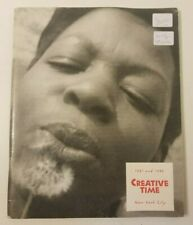 'Creative Time' Performance Catalog (NYC) 1991 and 1992, WigStock +