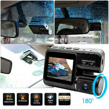 HD 1080P Dash Cam Front and Rear Car Camera 170° DVR Driving Recorder G-sensor