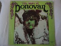 DONOVAN THE BEST OF DONOVAN VINYL LP 1969 HICKORY RECORDS UNIVERSAL SOLDIER