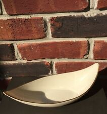 Lenox Elongated Berry Oval Bowl Long! Ivory Gold Trim * Rare Classic!
