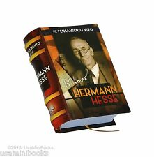 Hermann Hesse El Pensamiento Vivo small book in spanish facil lectura 330 pags