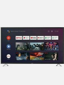 """Sharp 50"""" 4K UHD Android TV with Freeview Play HD, Google Assist, Chromecast, BT"""