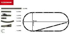 Fleischmann N 931885-4 Profi-Gleisset 20-teilig mit 1 Weiche - NEU