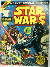 "STAR WARS # 2 Marvel Special Edition 1977 Comic Book - Large Scale 13-1/4"" X 10"""