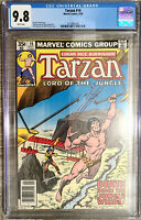 Tarzan Lord of the Jungle #16 Buscema Cover CGC 9.8 Marvel Comics 1978