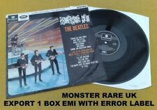 "BEATLES "" SOMETHING NEW ""SUPER UK MONSTER RARE 1 BOX EMI EXPORT CPCS LP  SAMPLE?"