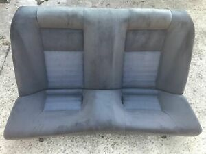 Nissan Skyline GTR R33 Rear Seats Bench Set No Rips Good Condition Blue Grey