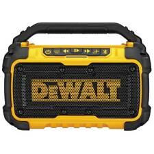 DeWALT DCR010 12-Volt/20-Volt Corded/Cordless Dual Speaker Bluetooth Speaker
