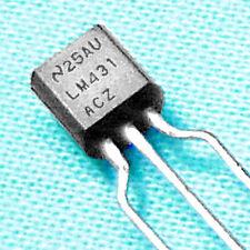 """(100) Lm431 """"Adjustable Zener"""" - 2½ to 36 V, 100 mA, Genuine National Lm431Acz"""