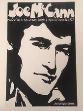 Joe McCann Original Poster by Jim Fitzpatrick