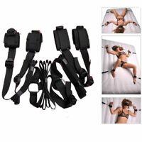 US- Kit Ankle Restraints System Under Bed Bondage Set Restraint Rope BDSM Toy