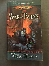 """DRAGONLANCE LEGENDS: WAR OF THE TWINS"" PAPERBACK BOOK"