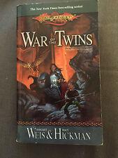 """DRAGONLANCE LEGENDS: WAR OF THE TWINS"" PAPERBACK BOOK"