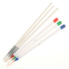 6Pcs/set Nail Art Brush Ongle Liner Drawing Line Pen Painting Paint DIY Tools