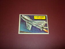 PLANES trading card #29 TOPPS 1957 Army Navy Marines Air Force PRINTED IN U.S.A