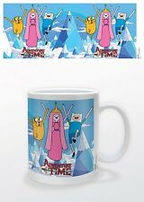 ADVENTURE TIME PRINCESS, JAKE & FINN MUG BOXED NEW 100 % OFFICIAL MERCHANDISE