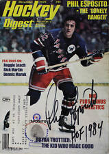 (#329)Phil Esposito Signed Hockey Digest December 1976