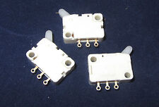 3pcs  ALPS Electric Micro switch Arm Lever 1A 125VAC AC  SPDT NO & NC Contacts N