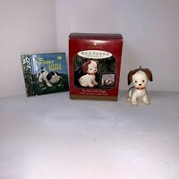 Hallmark Keepsake Ornament 1999 The Poky Little Puppy With Little Golden Book