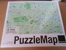 Design Ideas London 1000 Piece Jigsaw Puzzle England Map New Sealed NIB
