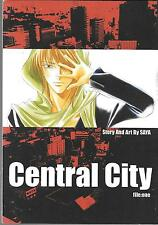 CENTRAL CITY GRAPHIC NOVEL ($7.95, VF/NM) STORY & ART BY SAYA, MANGA