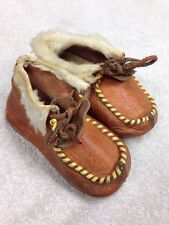 Antique Indian baby moccasins Circa 1940's