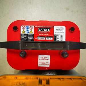 Optima Red Top RTR 4.2 High Cranking AGM Starter Battery