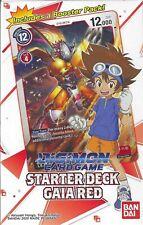 Digimon Starter Deck Gaia Red Englisch OVP