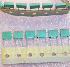 Qty (40) .22uf 63V 5% Metallized Polyester Mkt1818 R818422064W Roederstein