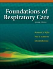 Foundations of Respiratory Care 2nd edition NEW!