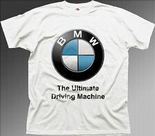 BMW M power badge M3 M5 ultimate car white t-shirt TC0536