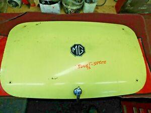 MG Midget, Sprite, Rear Trunk Lid or Boot, No Damage or Rust, Original, !!