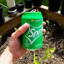 Hide a beer,Silicone Beer Can Cover,Sprite Green(12 Fl oz)