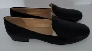 Women's Naturalizer Emiline Black Loafers Size 11W Never Worn.