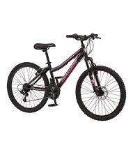 Mongoose Excursion Mountain Bike, 24-inch wheel, 21 speeds, black
