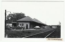 RPPC -  Railroad Station Depot - Williamstown MA 1971 - B&M RR  Real Photo