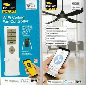 Brilliant Smart Ceiling Fan Remote Wifi Ceiling Fan Controller AU SELLER