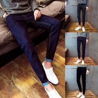 Men's Skinny Trousers Long Pants Denim Slim Fit Jeans Casual New Fashion