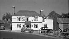 B/W Photo Print Loxwood The Onslow Arms 1947 Original Negative Scan DC9